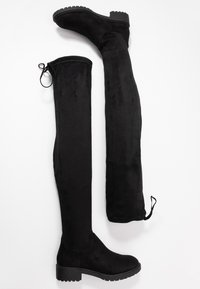 New Look - BOMBAY  - Cuissardes - black - 3