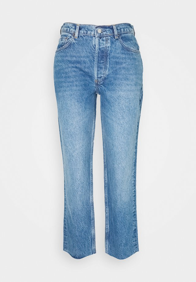TOMMY HIGH RISE - Straight leg jeans - conversation