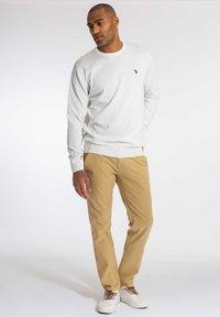U.S. Polo Assn. - ADAIR - Stickad tröja - snow white - 1