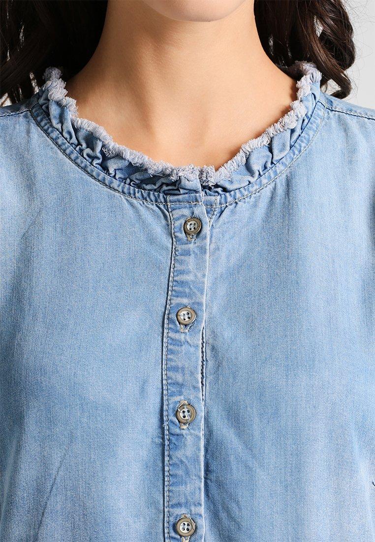 Cream LUSSA DRESS Jeanskleid light blue denim/hellblau