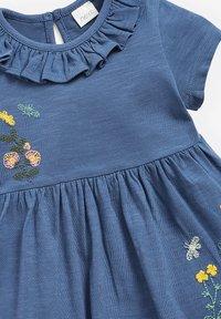 Next - 2 PACK - Day dress - blue - 4