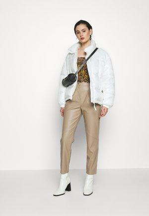 Trousers - carmel