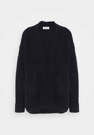 TUDBURY - Cardigan - navy chine