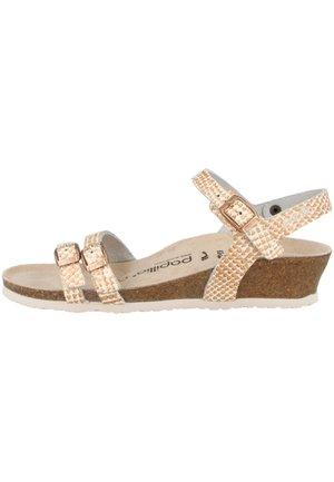 LANA - Wedge sandals - mermaid cream (1013565)