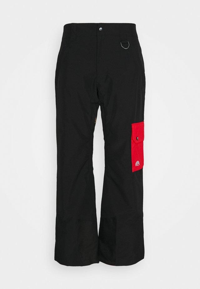 FRESH POW PANT - Pantalon de ski - black