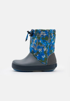 LODGEPOINT GRAPHIC - Winter boots - army green/charcoal