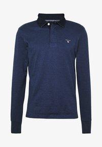 GANT - THE ORIGINAL HEAVY RUGGER - Polo shirt - marine melange - 4