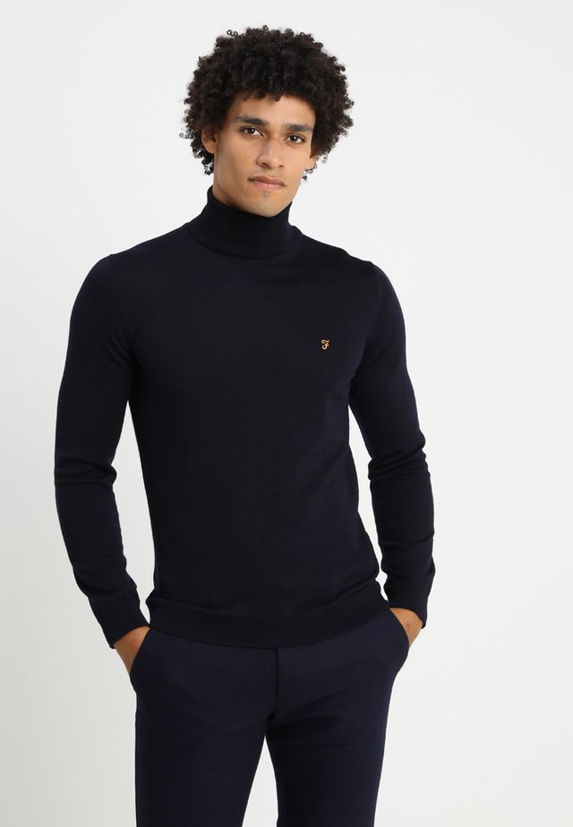 GOSFORTH ROLL NECK EXTRA  - Neule - true navy