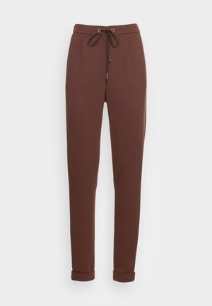 JOGGER - Tracksuit bottoms - rust brown