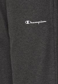 Champion - STRAIGHT HEM PANTS - Tracksuit bottoms - mottled dark grey - 5