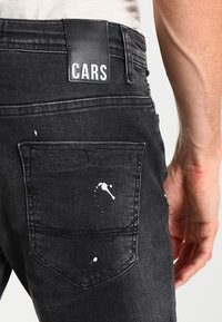 Cars Jeans - CAVIN - Slim fit jeans - black used - 4