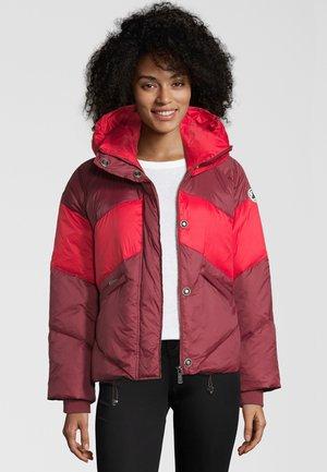 GIRONDE - Down jacket - aubergine