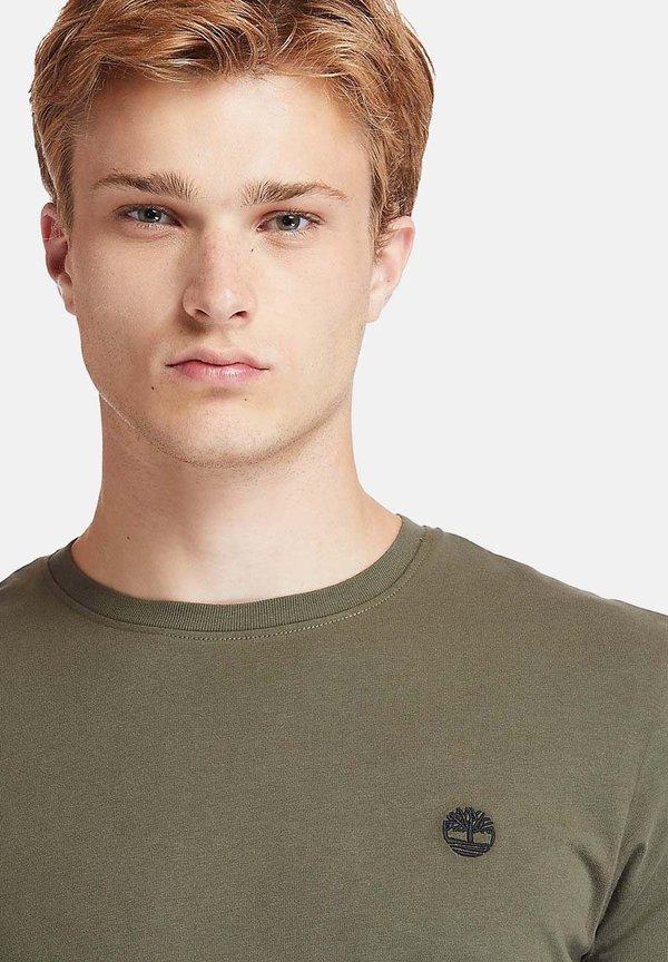 Timberland T-shirt basic - grape leaf/oliwkowy Odzież Męska POCS