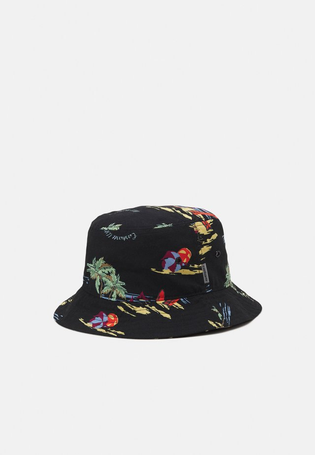 BEACH BUCKET HAT UNISEX - Klobouk - black