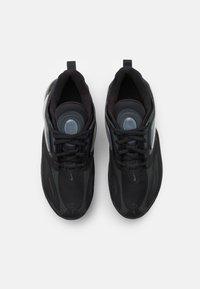 Nike Sportswear - AIR MAX ZEPHYR UNISEX - Sneakers laag - black/dark smoke grey - 3