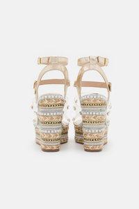 River Island - Platform sandals - gold - 2
