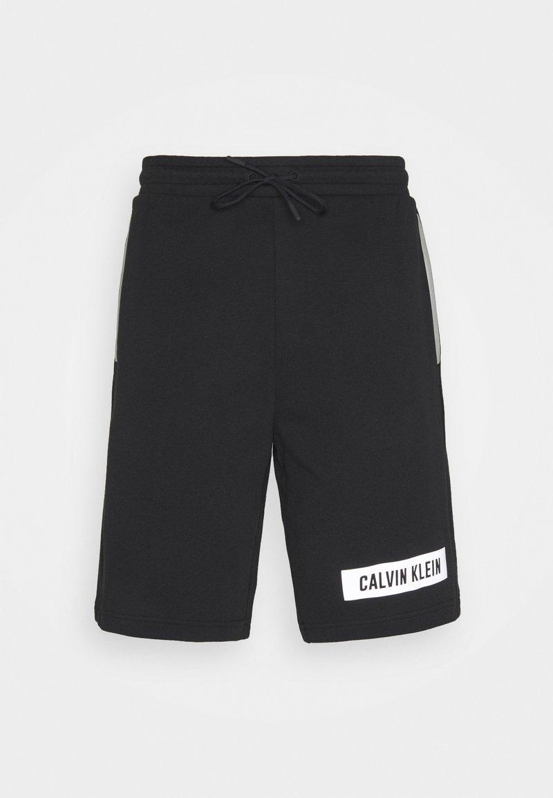 Calvin Klein Performance - SHORTS - Sportovní kraťasy - black