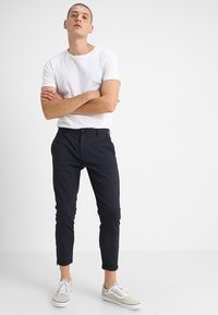 Gabba - PISA Small Dot - Trousers - navy - 1