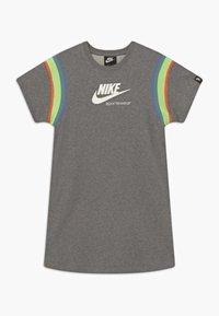 Nike Sportswear - HERITAGE DRESS - Day dress - carbon heather/white - 0