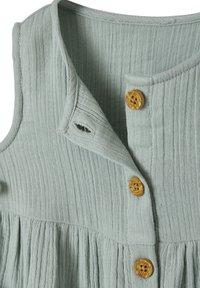 Vertbaudet - Jersey dress - graugrün - 2