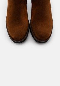 Gabor Comfort - Classic ankle boots - cognac - 5