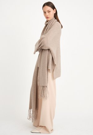 Scarf - winter beige