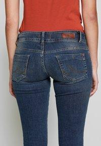 LTB - MOLLY - Slim fit jeans - dark blue denim - 3