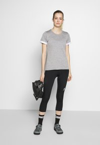 ODLO - ELEMENT - 3/4 sports trousers - black - 1