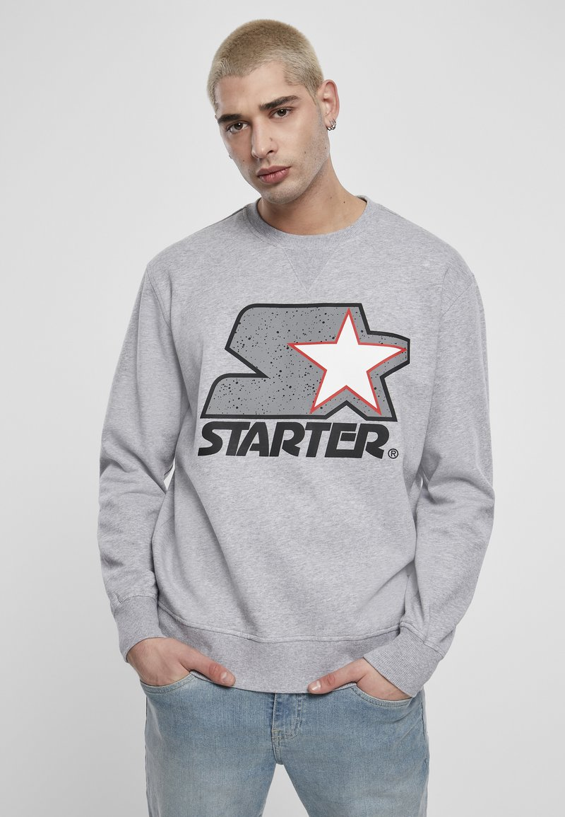 Starter - Collegepaita - heather grey