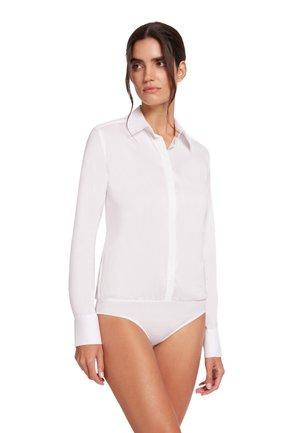 LONDON EFFECT - Button-down blouse - white