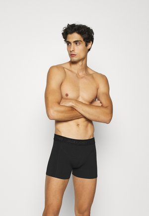 JACWAISTBAND TRUNKS 3 PACK  - Bokserit - black