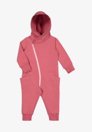Jumpsuit - cherry bomb romance pink