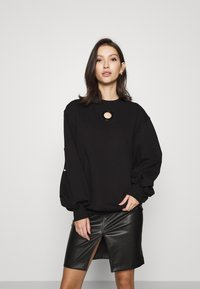 Diesel - F-CIONDY SHIRT - Sweatshirt - black - 0