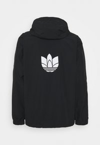 adidas Originals - 3D TREFOIL  - Lehká bunda - black/white - 1