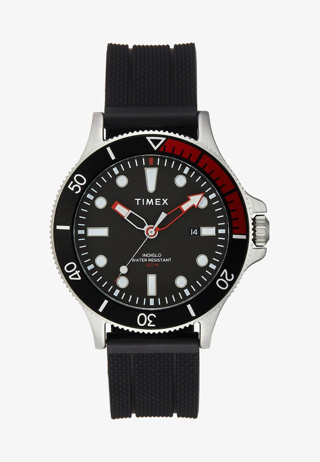 ALLIED COASTLINE 43 mm - Zegarek - black/red