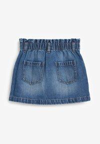 Next - Denim skirt - blue denim - 1