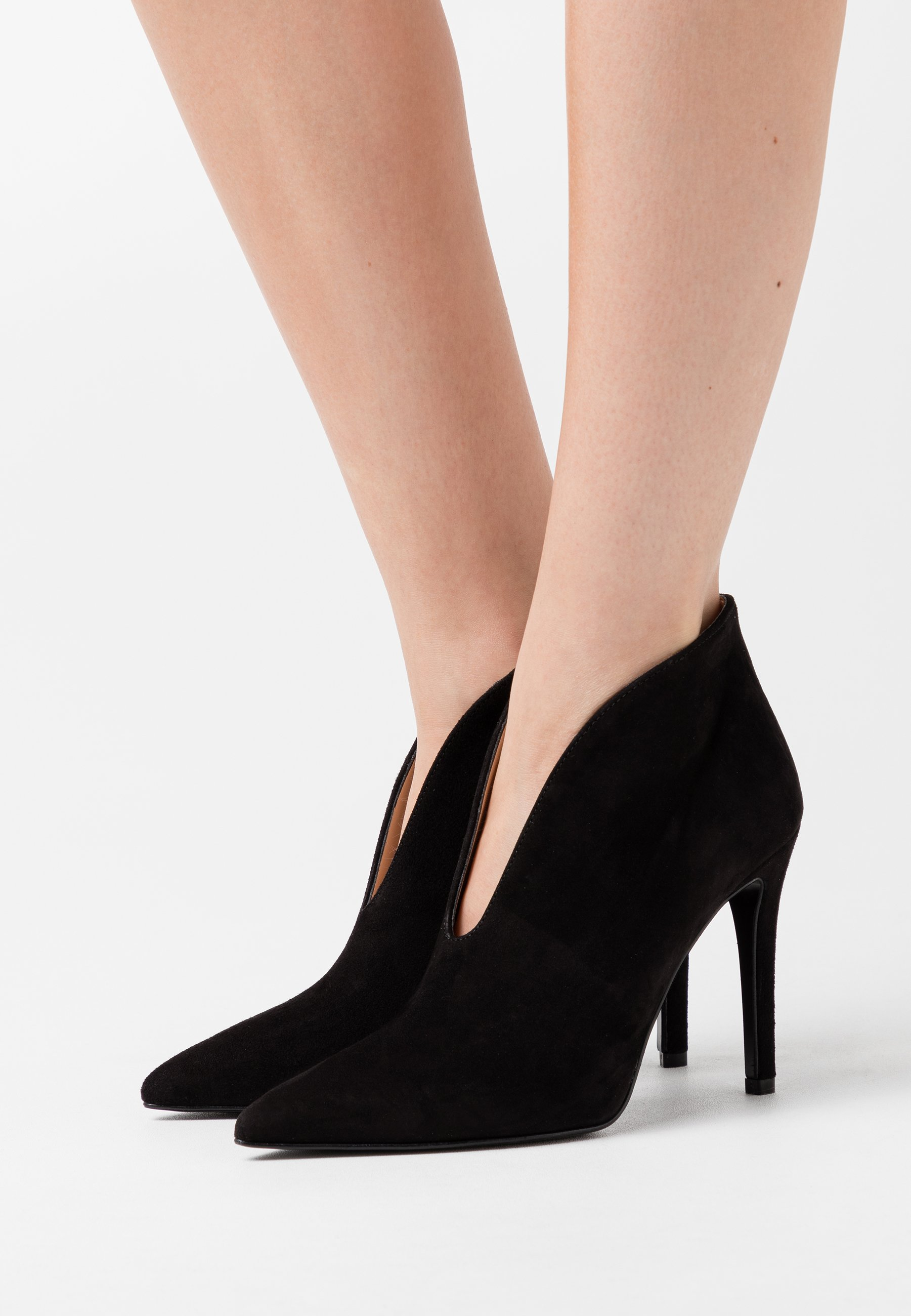 Wholesale Women's Shoes Bianca Di High heeled ankle boots nero ia4nqDTLd