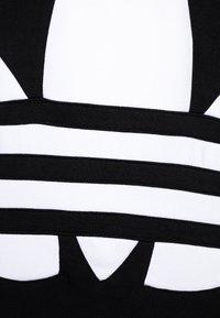 adidas Originals - TREFOIL HOOD - Huppari - black/white - 2