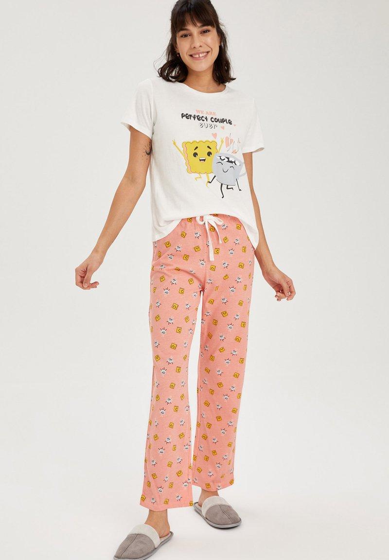 DeFacto - Pyjama set - bordeaux