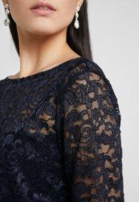 Lauren Ralph Lauren - CLASSIC LONG GOWN COMBO - Vestido de fiesta - lighthouse navy - 6
