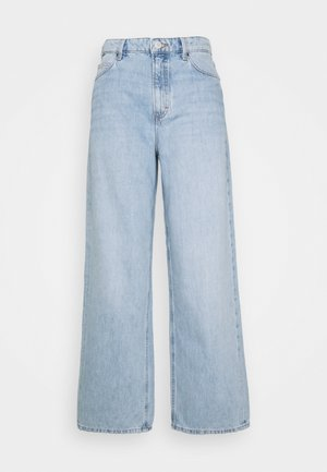 TOMMA - Relaxed fit jeans - multi/worn 90's light blue
