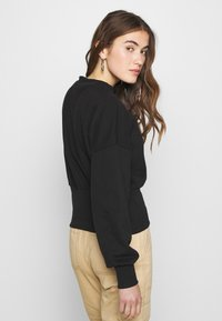 ONLY - ONLLINA  HIGHNECK  - Sweatshirt - black - 2