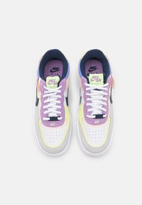 Nike Sportswear - AIR FORCE 1 SHADOW - Sneakers basse - photon dust/royal pulse/barely volt/crimson tint/violet star/midnight navy - 5