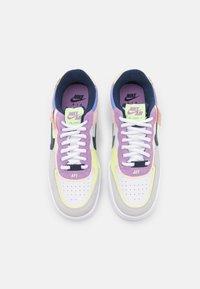 Nike Sportswear - AIR FORCE 1 SHADOW - Baskets basses - photon dust/royal pulse/barely volt/crimson tint/violet star/midnight navy - 5