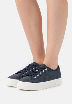LACE-UP - Sneakers basse - navy