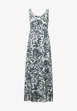 MIT BLUMEN PRINT - Maxi dress - weiß