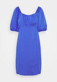 VMGILA SHORT DRESS - Denní šaty - dazzling blue
