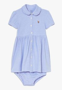Polo Ralph Lauren - SOLID OXFORD SET - Day dress - harbor island blue - 0