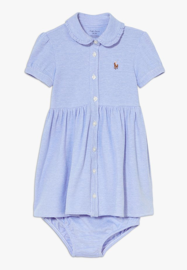 SOLID OXFORD SET - Robe d'été - harbor island blue