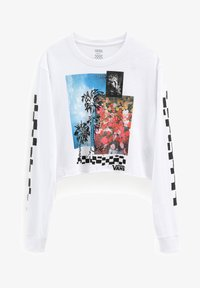 Vans - WM SEARCH PARTY - Long sleeved top - white - 2